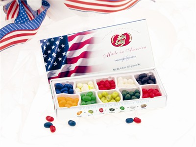Jelly Belly 10 Flavor Patriotic Gift Box  (Sold Out)
