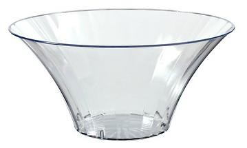 Small Clear Flared Candy Bowl for Candy Buffets