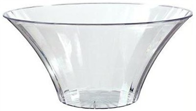 Clear Flared Candy Bowl for Candy Buffet Large