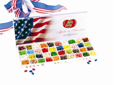 Jelly Belly 40 Flavor Patriotic Gift Box (DISCONTINUED)