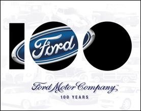 FORD  Anniversary Metal Sign (Discontinued)