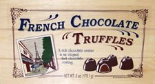 French Dark ChocolateTruffle Gift Box (Sold Out)
