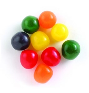 Chewy Sour Balls - Assorted Fruit Flavors 5LB
