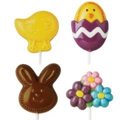 Fuzzy Bunny Lollipop Mold (Sold Out)