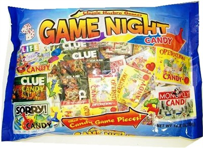Classic Hasbro Game Night Candy Boxes 36ct. (sold out)