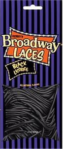 Gerrit's Broadway Laces Black Licorice 4oz.