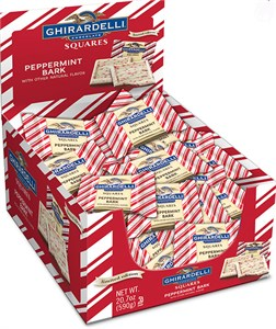 Ghirardelli Limited Edition Peppermint Bark Squares 120ct.