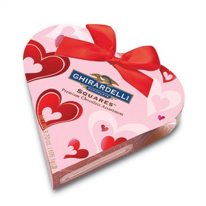 Ghirardelli Pink Heart Gift Box Chocolate Assortments (Sold Out)