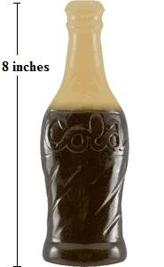 Giant Gummy Cola Bottle- Vanilla
