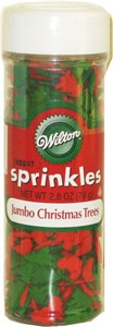 Jumbo Christmas Tree Sprinkles 2.8oz. (sold out)