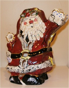 SANTA CLAUS TEALIGHT HOLDER (sold out)