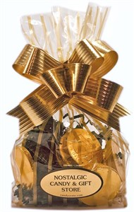 Chocolate Coins Gift Bag