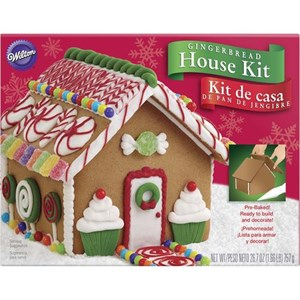 Wilton's Pre-Baked Gingerbread House Kit (sold out)