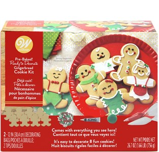 Wilton's Gingerbread Cookie Kit