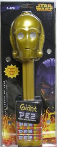 Giant C-3PO Star Wars PEZ Dispenser (DISCONTINUED)