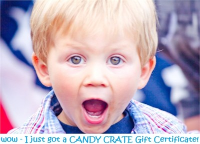 Candy Crate Gift Certificates