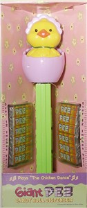 Giant Musical Easter Chick PEZ Dispenser (Sold Out)