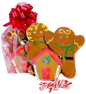 Gingerbread Happy Family Gift Bag (DISCONTINUED)