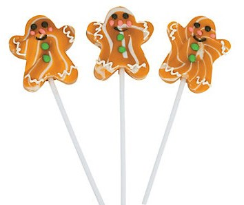Gingerbread Swirl Pops 12ct.