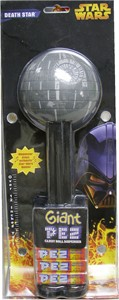 GIANT STAR WARS Death Star PEZ DISPENSER (DISCONTINUED)