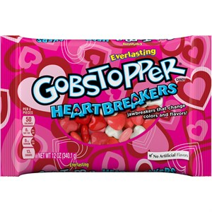 Gobstopper Heartbreakers Heart Candies 12oz. (sold out)