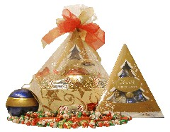 Chocolate Medley Holiday Gift Basket (DISCONTINUED)