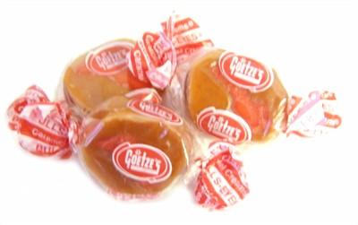 Bulls-Eyes Apple Caramel Creams 5LB