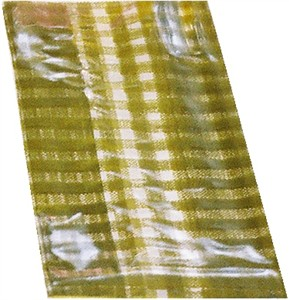Gold Gingham Cello Bag 25ct (sold out)