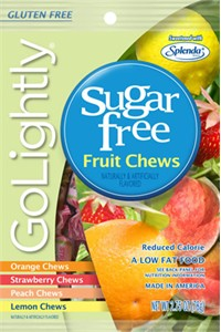 GoLightly Assorted Fruit Chews Sugar Free