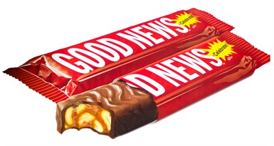 Good News Candy Bar - 2ct.