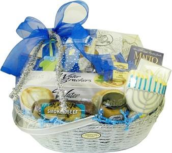 Hanukkah Gourmet Gift Basket (Discontinued)