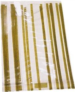 GOLD VERTICAL STRIPE CELLO BAG (sold out)