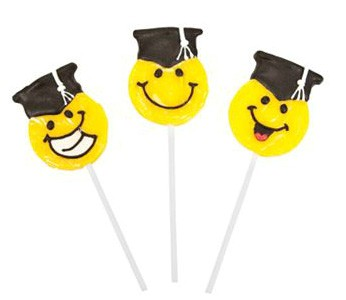 Graduation Candy Lollipops 12ct