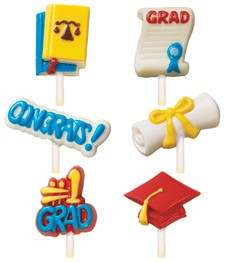 Graduation Lollipop Mold (sold out)