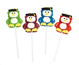Graduation Owl Lollipops