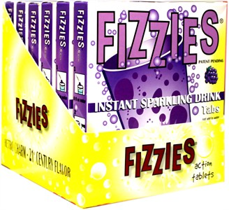 Fizzies Candy Drink Tablets - Grape 6ct.