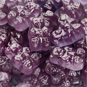 Gummi Bears - Purple Grape 5LB