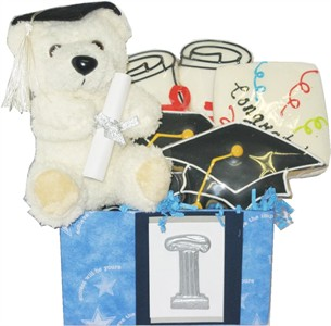 Graduation Cookie Bear Gift Box (DISCONTINUED)