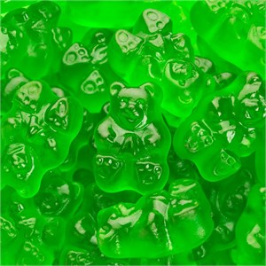 Gummi Bears - Granny Smith Green Apple 5LB