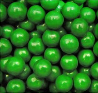 Sixlets Green Candy - 2LB
