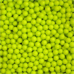 Lime Green Sugar Candy Beads 5LB (Discontinued)
