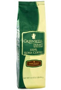 Greenwell Farms Dark Roast Kona Coffee 8oz. (sold out)