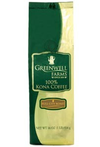 Greenwell Farms Full City Roasted Kona Coffee 8oz. (sold out)