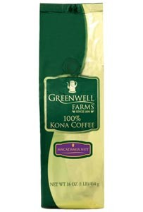 Greenwell Farms Macadamia Nut Flavored Kona Coffee 8oz. (sold out)