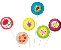 Groovy Flower Twinkle Pops Assorted 7 Flavors - 120ct.