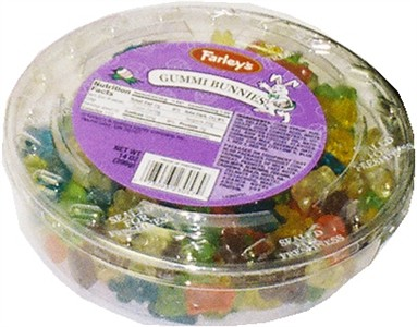 Gummi Bunnies 14oz Tub (sold out)