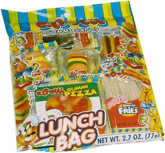 Gummi Candy Lunch Bag (sold out)