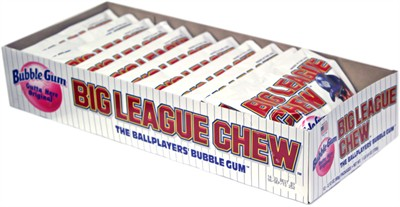 Big League Chew Bubblegum - Outta' Here Original 12ct .