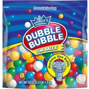 Gumball Refill by Dubble Bubble 53oz