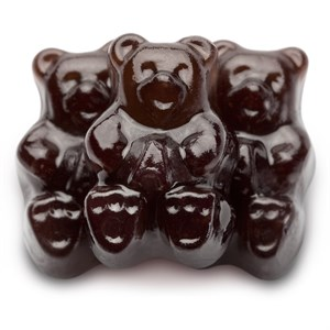 Gummi Bears - Black Cherry 1LB